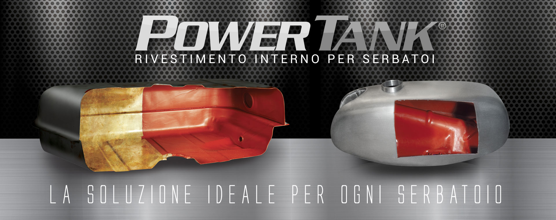 Power tank, tankerite alternativa